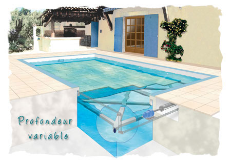 Piscine fond mobile for Piscine fond mobile tarif