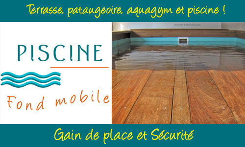 Piscine fond mobile gain de place et s curit for Piscine fond mobile forum